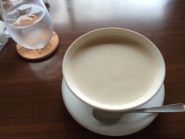 ゆいま~るさんのカフェオレ