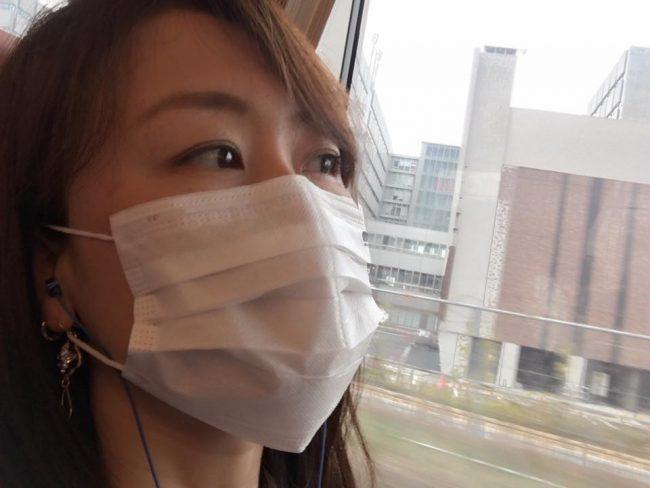 マスク・・辛い